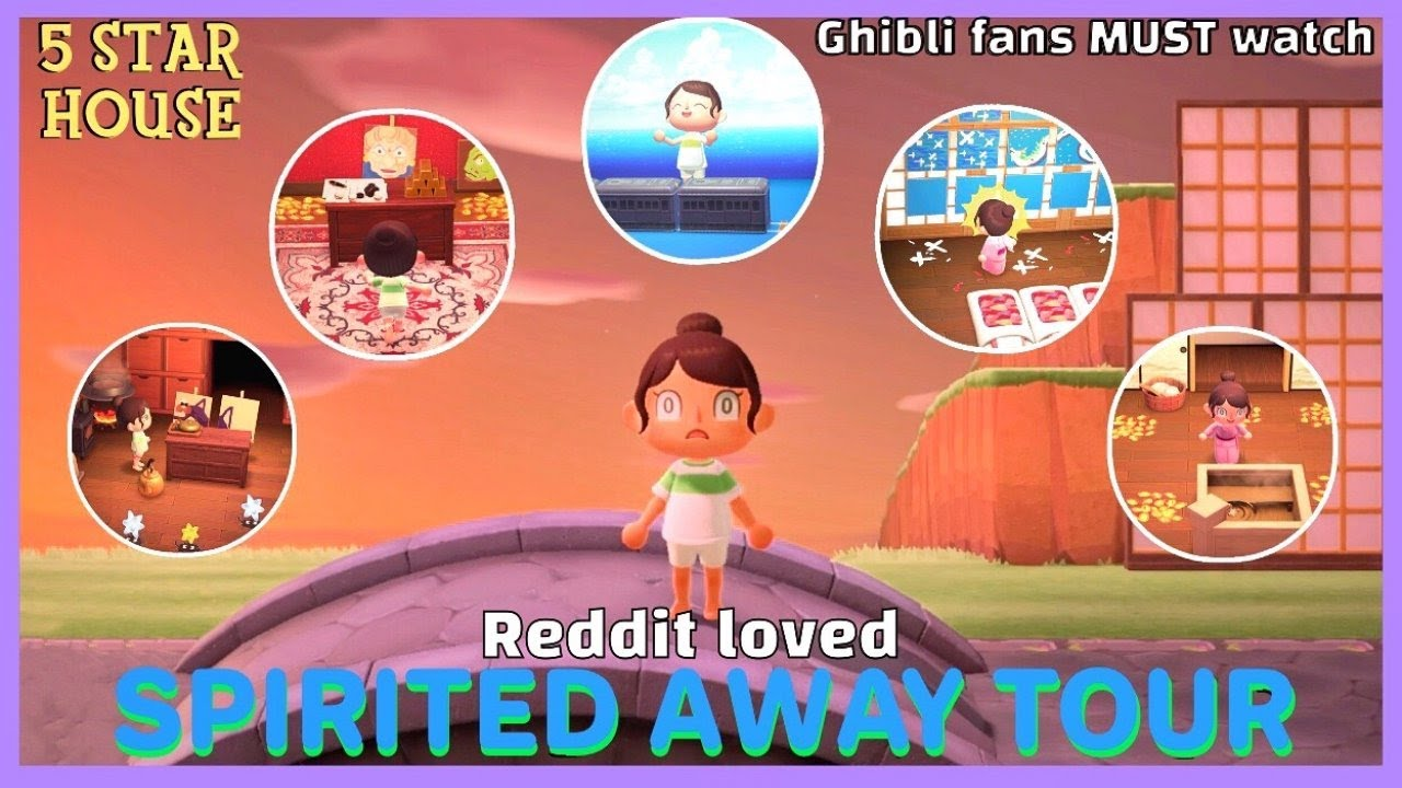 Reddit Loved Spirited Away House Tour Boiler Room Train Station Yubaba S Study Stink Spirit Youtube