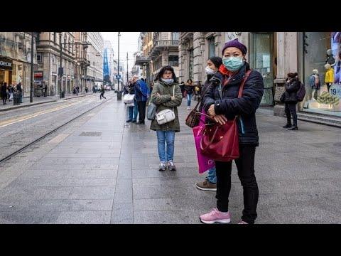 Италия лидирует по распространению коронавируса в Европе