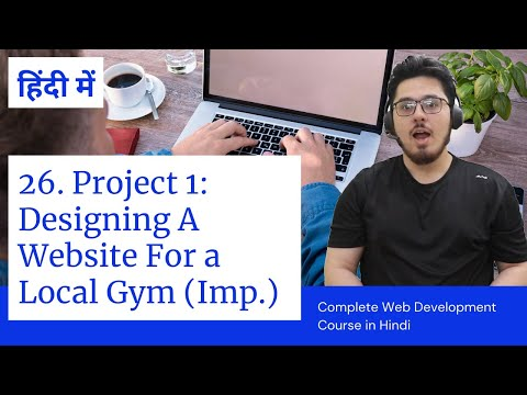 Project 1: Creating A Gym Website Using HTML5 & CSS3 | Web Development Tutorials #26