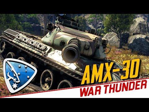 War Thunder: AMX-30 Gameplay