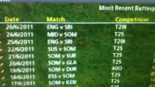 Cricket coach 2011 bug