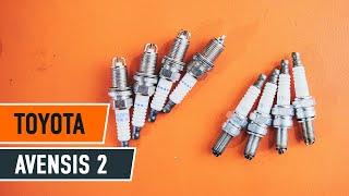 Návod: Ako vymeniť zapaľovacia sviečka na TOYOTA AVENSIS 2 Т25