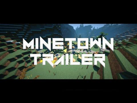 MineTown - Minecraft Server Projekt Trailer