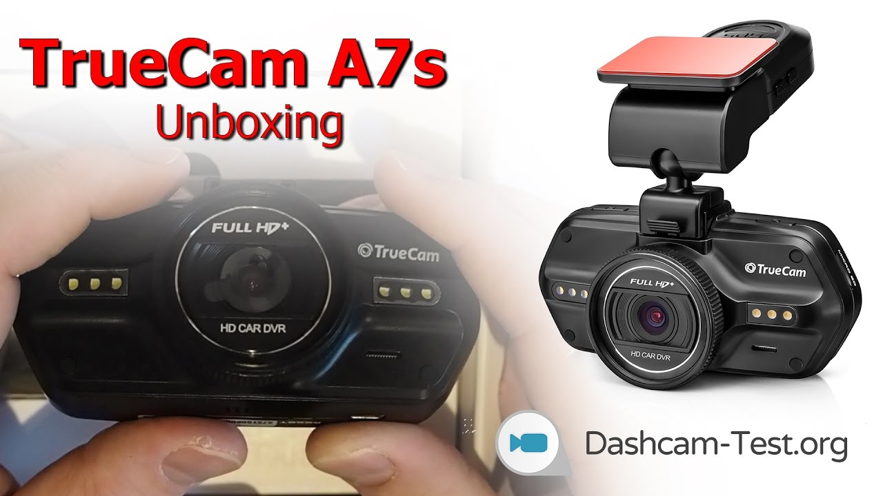 unboxing truecam a7s dashcam autokamera hd youtube