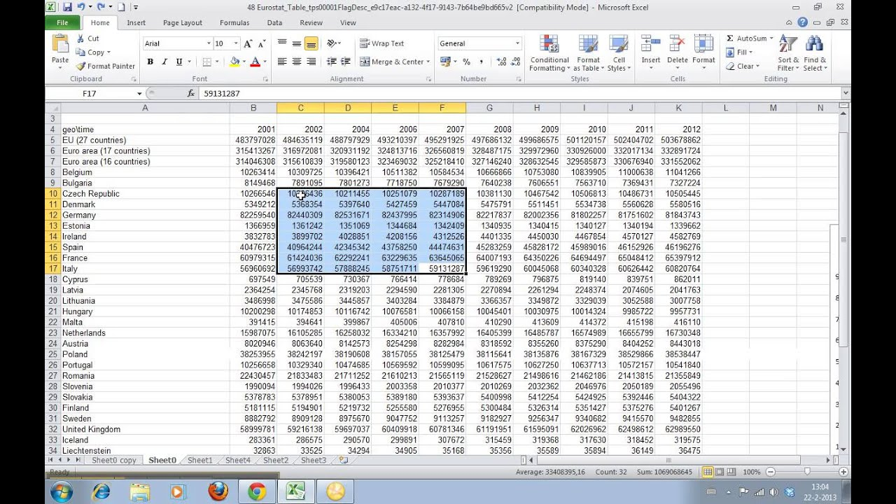 how to get rid of empty cells in excel
