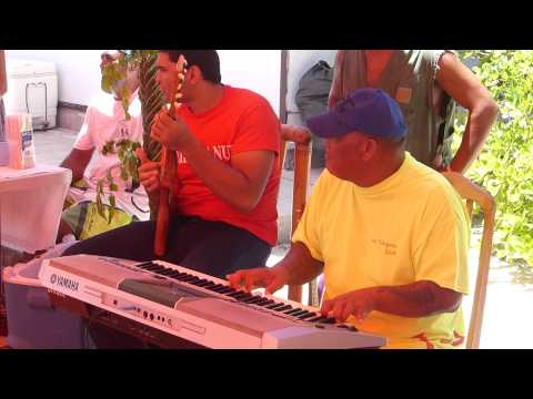 Musicians In Takapoto Play Kind of Polynesian Music