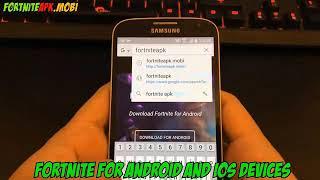 Télécharger Fortnite Android (Roumain) Skip verification