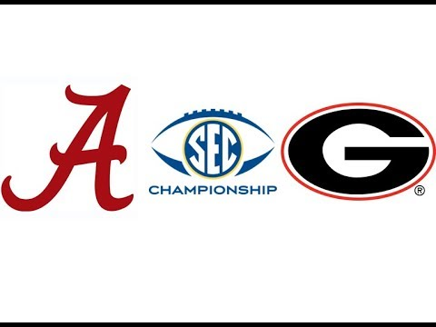 2018 SEC Championship, #1 Alabama vs #4 Georgia (Highlights)