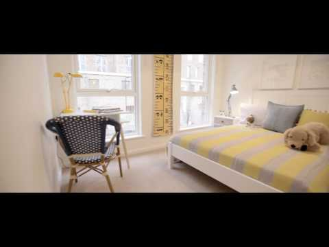 The Mews Townhouse Show Home Tour at Acton Gardens in Acton, London by Countryside