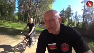 Mexican Fighter Cycling Trip to Russia School Martial Arts Vadim Starov Camp Tver