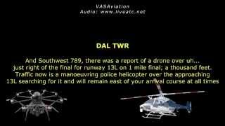 [REAL ATC] Drone CAUSING CONFLICTS  near Dallas/Love DAL