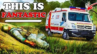 How I made a REAL AMBULANCE in Battlefield 5... (YOU CAN TOO)