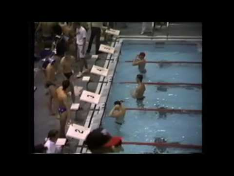 1992 Western Boone Sectionals 200 Freestyle Relay Lebanon Tiger Sharks