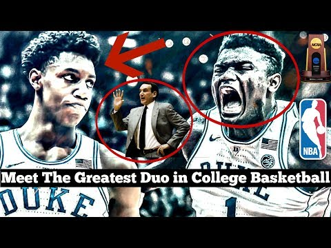 Meet the GREATEST Duo in College Basketball (Zion Williamson and RJ Barrett)