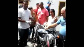 ACIDENTE DE MOTO COM AMPUTAÇÃO TRAUMÁTICA -  GT TREINAMENTOS