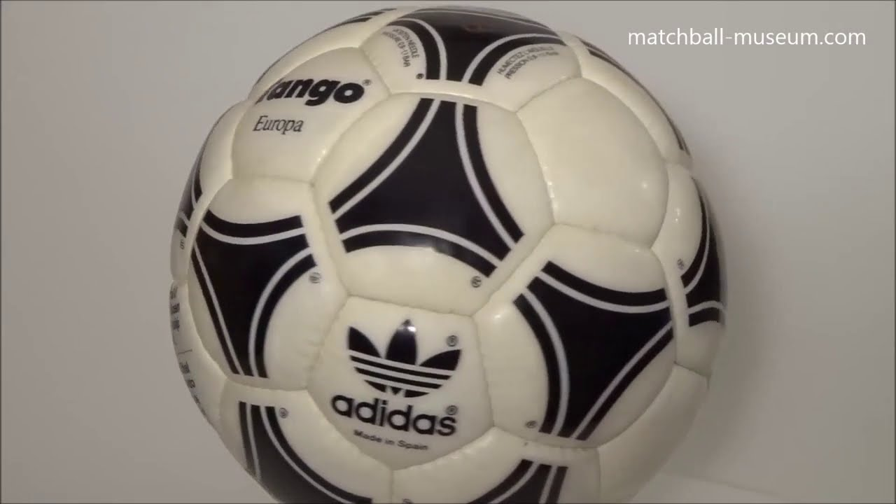 Son Venta ambulante Disminución  1988 uefa euro cup adidas tango europa official match ball - YouTube