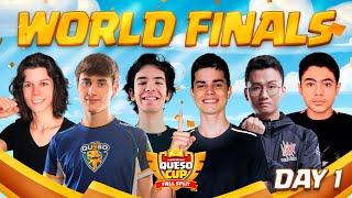 【クラロワ】Queso Cup Fall Split | WORLD FINALS | Day1