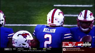 Pat Nelson 2018 SMU Mustangs Highlights      ~Hardest Hitting Safety in NCAA~