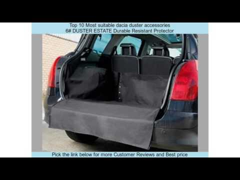 top 10 most suitable dacia duster accessories youtube. Black Bedroom Furniture Sets. Home Design Ideas