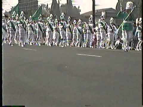 "North Park Middle School ""Band that Wears Green"" @ the '92 Buckboard Parade"