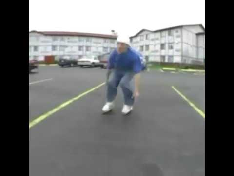 Chris Tillman skating fall going 30mph
