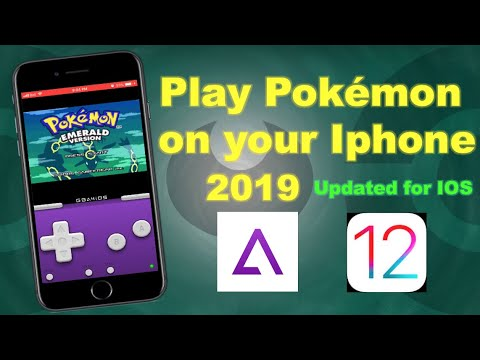 How To Play Pokémon On iPhone 2019   iOS 12 [GBA4iOS]