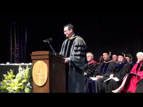 David Aronoff UVM School of Business Commencement Speech 2015