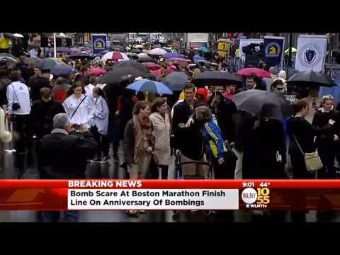 Two Backpacks Found Near Boston Marathon Finish Line