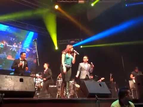 Kiara y jorge luis chacin siempre juntos guaco histórico 2 maracaibo 2014