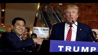 VIDEO Fadli Zon dan Setya Novanto Hadiri Jumpa Pers Donald Trump