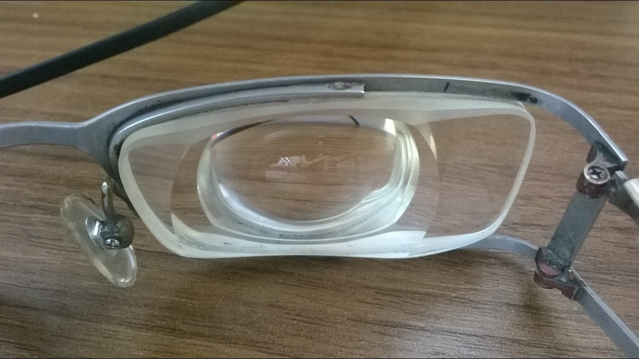 0624f0d908 Super strong glasses- Thick lens for heavy myopia(-37D) - YouTube