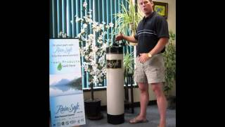 Carbon water filtration system for the entire house.