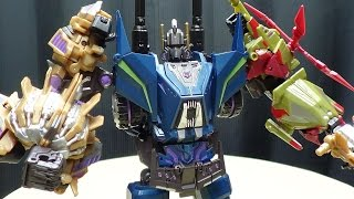 Microblaze Creations MILITARY TITANS: PART 2 (FOC Bruticus): EmGo's Transformers Reviews N' Stuff