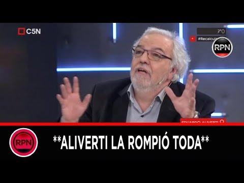 Eduardo Aliverti la rompió toda en Recalculando haciendo un imperdible análisis político