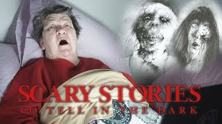 READING ANGRY GRANDMA SCARY STORIES TO TELL IN THE DARK!