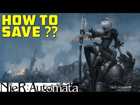 How to save the game in NieR: Automata | Explained | Written Commentary