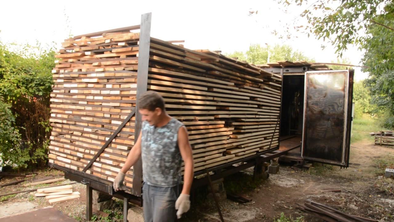 термическая обработка древесины