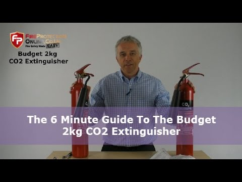 The 6 Minute Guide To The Budget 2kg CO2 Extinguisher