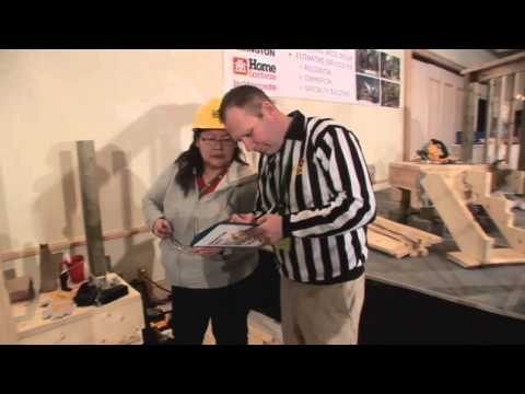 NHC 2015 - Installing Stringer, Treads and Riser - Demonstration & Competition