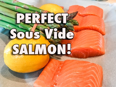 PERFECT SOUS VIDE SALMON!