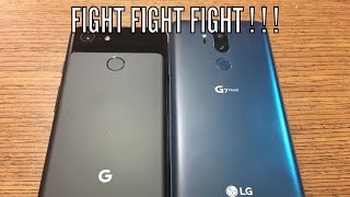 Pixel 3 VS LG G7 ThinQ