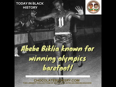Today in Black History- Abebe Bikila