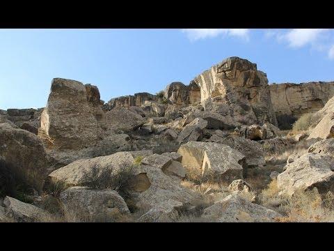 Следы древний цивилизации - Инопланетный аванпост - Гобустан, Азербайджан - Gobustan, Azerbaijan