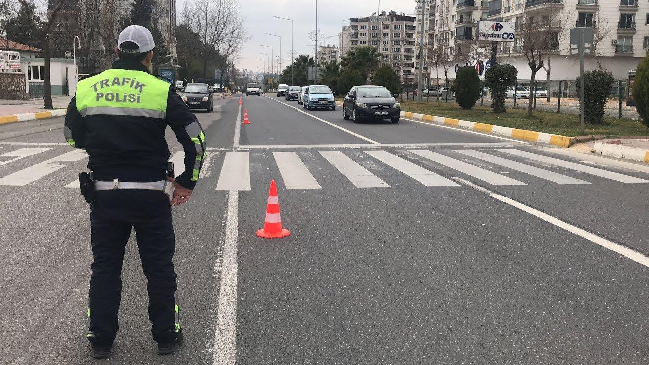 Trafik Polislerinin Denetimleri Aralıksız Sürüyor