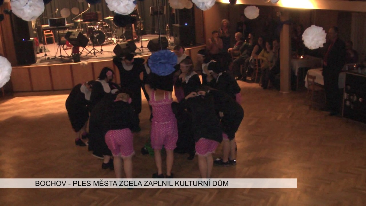 80a1fcdcf76 Bochov  Reprezentační ples města zcela zaplnil kulturní dům (TV Západ)