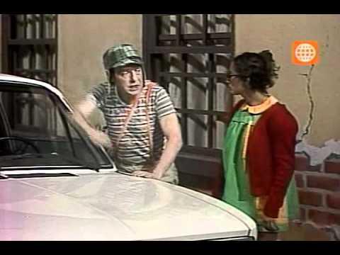 Clube do Chaves - O carro do Senhor Barriga - Episódio inédito (Espanhol)