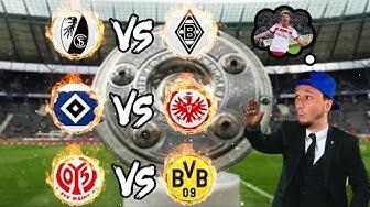 Bundesliga LIVE Konferenz am Dienstag | 16. Spieltag mit HSV und Dortmund