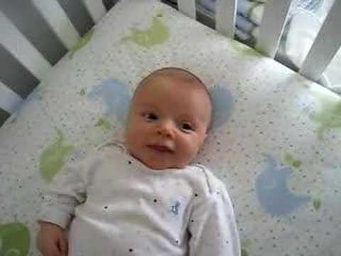 Good morning Asher (3 months)