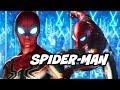 Avengers Infinity War Spider-Man New Phase 4 Suit Scene Explained