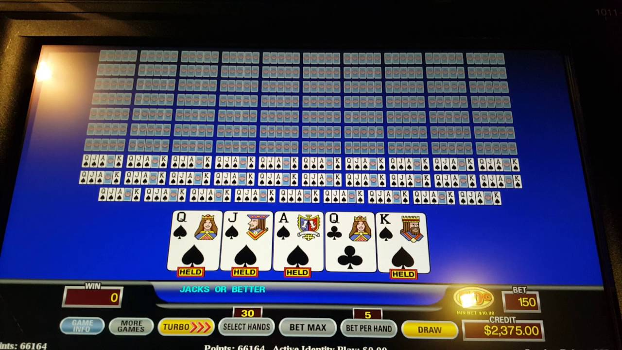 Odds of hitting a royal flush on video poker how to stop gambling online free